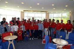 Jean Todt rencontre les associations de charité de Monaco