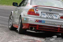 La BMW 330ci n°72 du QuickSilver Motorsports (Tim Probert, Steve Olsen)