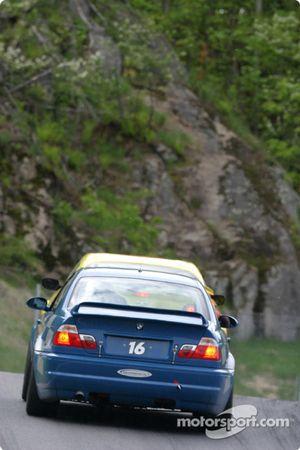 La BMW M3 n°16 du Zoom Motorsports (Alan Wortzman, Mike McCalmont)