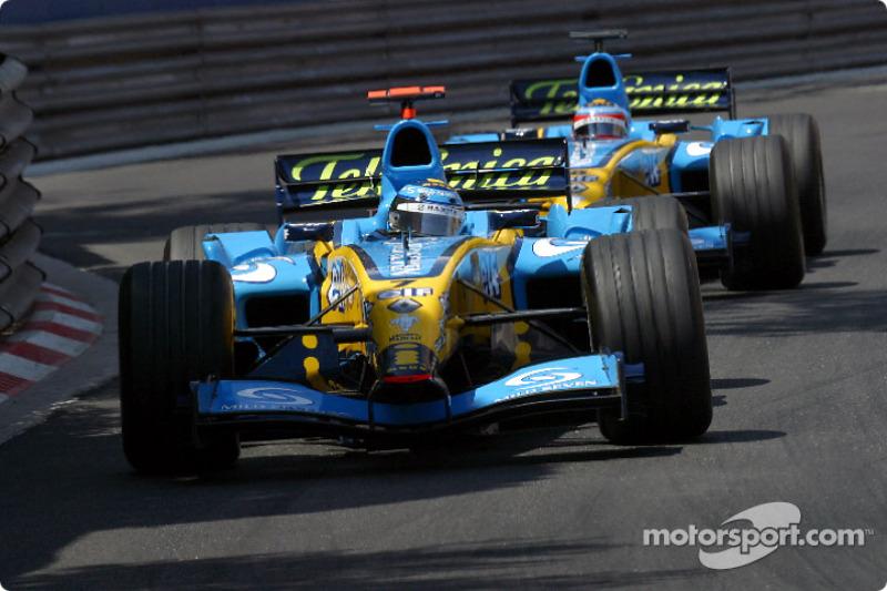 Jarno Trulli (Renault) - GP de Mónaco 2004