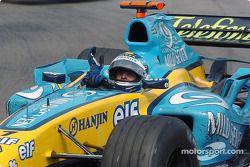 Le vainqueur Jarno Trulli