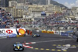 Jarno Trulli devance Fernando Alonso