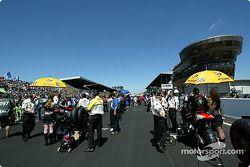 La parrilla Le Mans