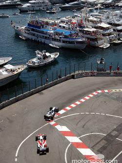 Ralf Schumacher y Cristiano da Matta