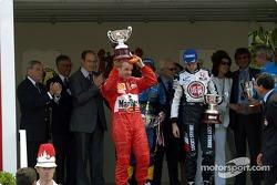 Podio: Rubens Barrichello