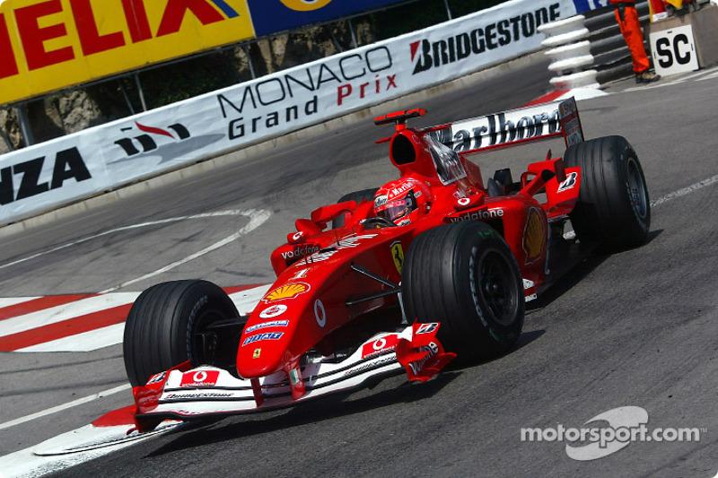 Schumacher y el récord de vueltas lideradas