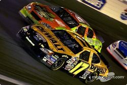 Matt Kenseth passes Tony Stewart