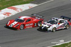 La Lexus Fabcar n°3 de Cegwa Sport (John Lloyd, Darius Grala, Mike Borkowski) et la Porsche GT3 RS n°77 du G&W Motorsports (Spencer Pumpelly, Mark Greenberg, Robin Liddell)