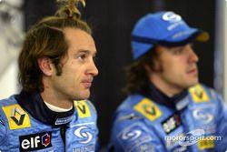 Jarno Trulli ve Fernando Alonso