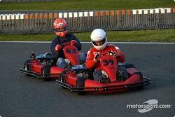 Karting, Kerpen: Rubens Barrichello ve Michael Schumacher