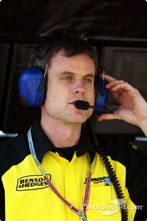 Jordan yarış mühendisi Dominic Harlow