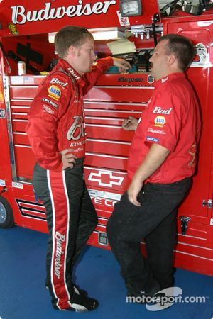 Dale Earnhardt Jr. avec Tony Eury Jr.