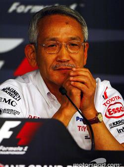 Friday basın toplantısı: Tsutomu Tomita