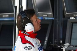 Olivier Panis, Toyota pitwall