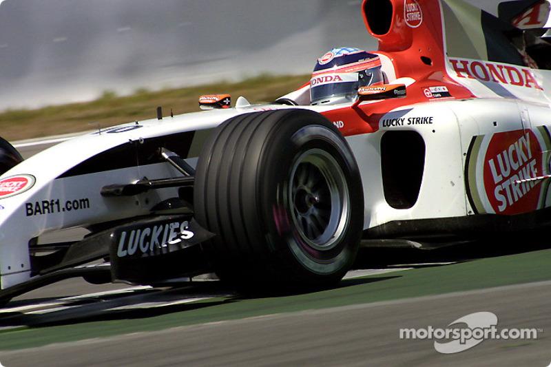 En tête d'un Grand Prix!