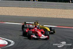 Rubens Barrichello ve Giorgio Pantano