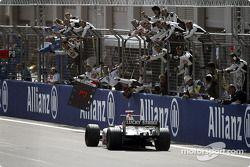 3. finish for Jenson Button
