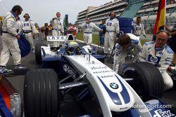 Ralf Schumacher gridde