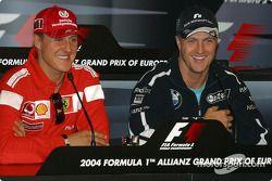 basın toplantısı: Michael Schumacher ve Ralf Schumacher