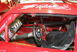 Visit of Hendrick Motorsports: cockpit of Tim Richmond's car in the museum