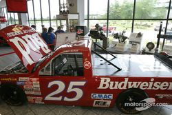 Visite de Hendrick Motorsports : Le truck de Rick Hendrick