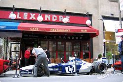 Canadian GP festivities announcement: Williams-BMW on display