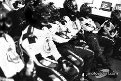 BAR-Honda team members