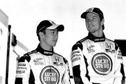 Takuma Sato ve Jenson Button