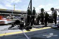 Pitstop practice, BAR-Honda