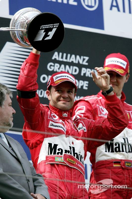 Podium : Rubens Barrichello