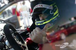 Cristiano da Matta a Toyota Yaris Cup Car