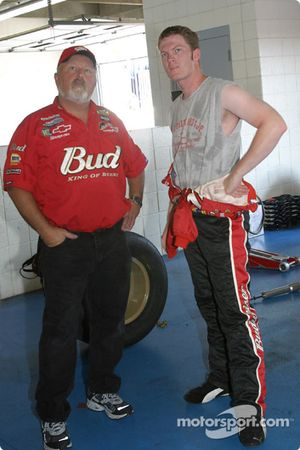 Tony Eury et Dale Earnhardt Jr.