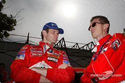 Marcus Gronholm et Nicola Gullino