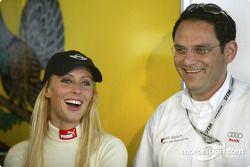 Cora Schumacher mit Hans-Jürgen Abt