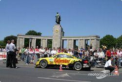 DTM vs. Fußball in Berlin