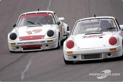 1973 Porsche IROC RSR et la 1972 Porsche 911