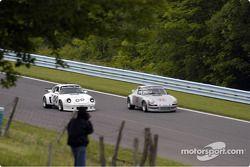 1973 Porsche 911 RSR et #00-1975 Porsche 911