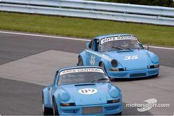 #09-72 Porsche 911 et # 35 70 Porsche 911