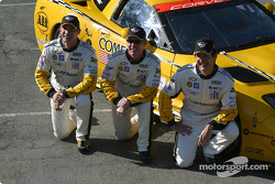 Photo d'équipe : Max Papis, Johnny O'Connell, Ron Fellows