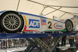 L'Audi R8 de Champion Racing sur la première scène