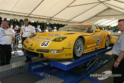 Corvette Racing Corvette C5-R at first stage