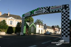 Arnage gets ready for the 24 Hours of Le Mans festivities