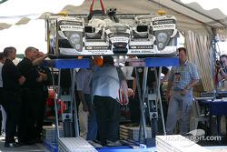 La voiture de Racing for Holland sur la scène 1