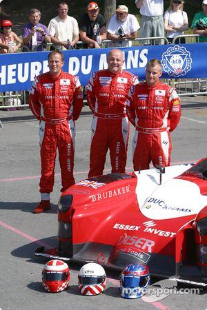 Lister Racing Lister Storm with drivers John Nielsen, Casper Elgaard, Jens Reno Moller