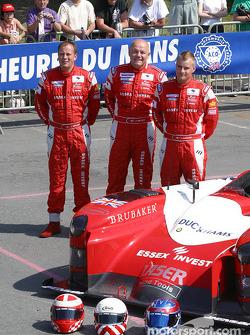 La Lister Storm du Lister Racing avec les pilotes John Nielsen, Casper Elgaard, Jens Reno Moller