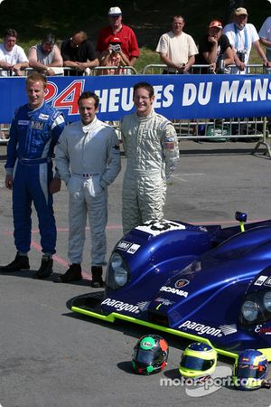 La Courage Willman d'Epsilon Sport avec les pilotes Renaud Derlot, Gunnar Jeannette, Gavin Pickering