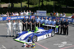La Dallara Judd n°6 du Rollcentre Racing (Martin Short, Joao Barbosa, Rob Barff)