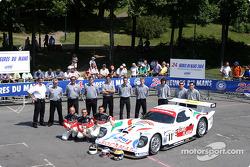 La Panoz Elan n°11 du Panoz Motor Sports (Patrick Bourdais, Jean-Luc Blanchemain, Roland Berville)