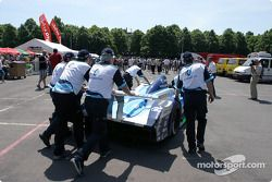 Pescarolo team goes back to track after Pescarolo Judd after scrutineering
