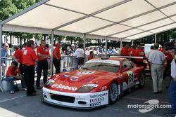 #61 Barron Connor Racing Ferrari 575 Maranello at stage 2